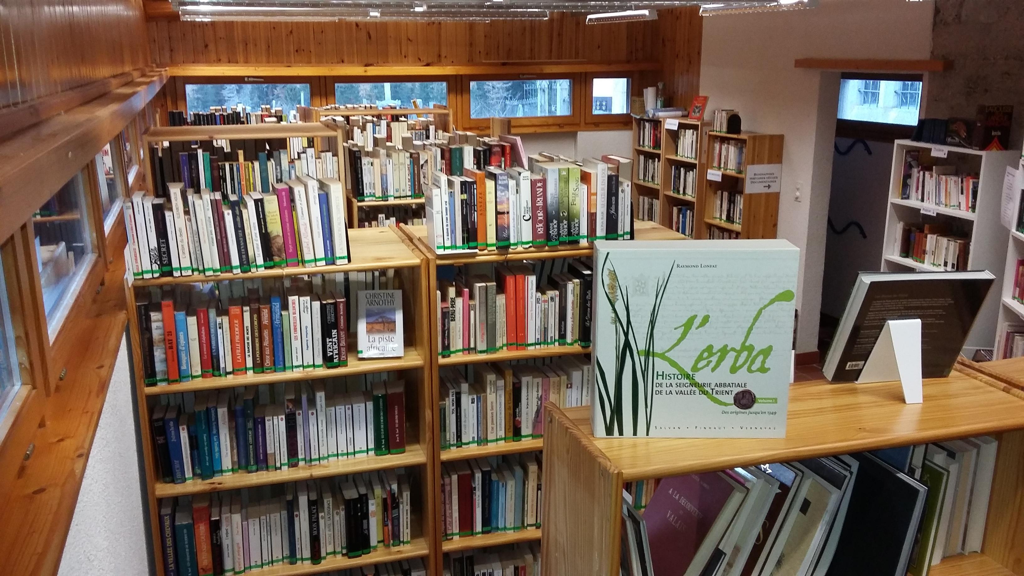 Bibliothèque communale de Trient