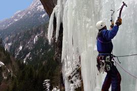 Cascade de glace - Eau Noire