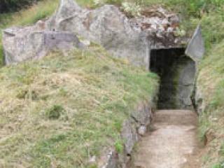 Entrée du fort de la Forclaz
