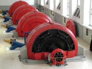 4 générateurs de 10 MWA chacun