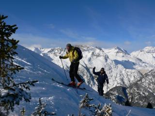 Rando à skis
